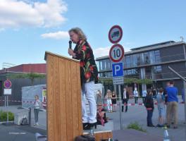 Alexandra Hiersemann plädiert für Religionsfreiheit