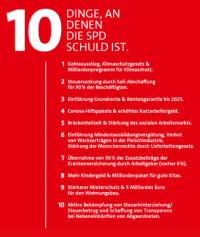 Die Schuld der SPD.
